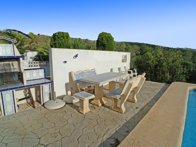 Villa in Alcalali with panoramic mountain views