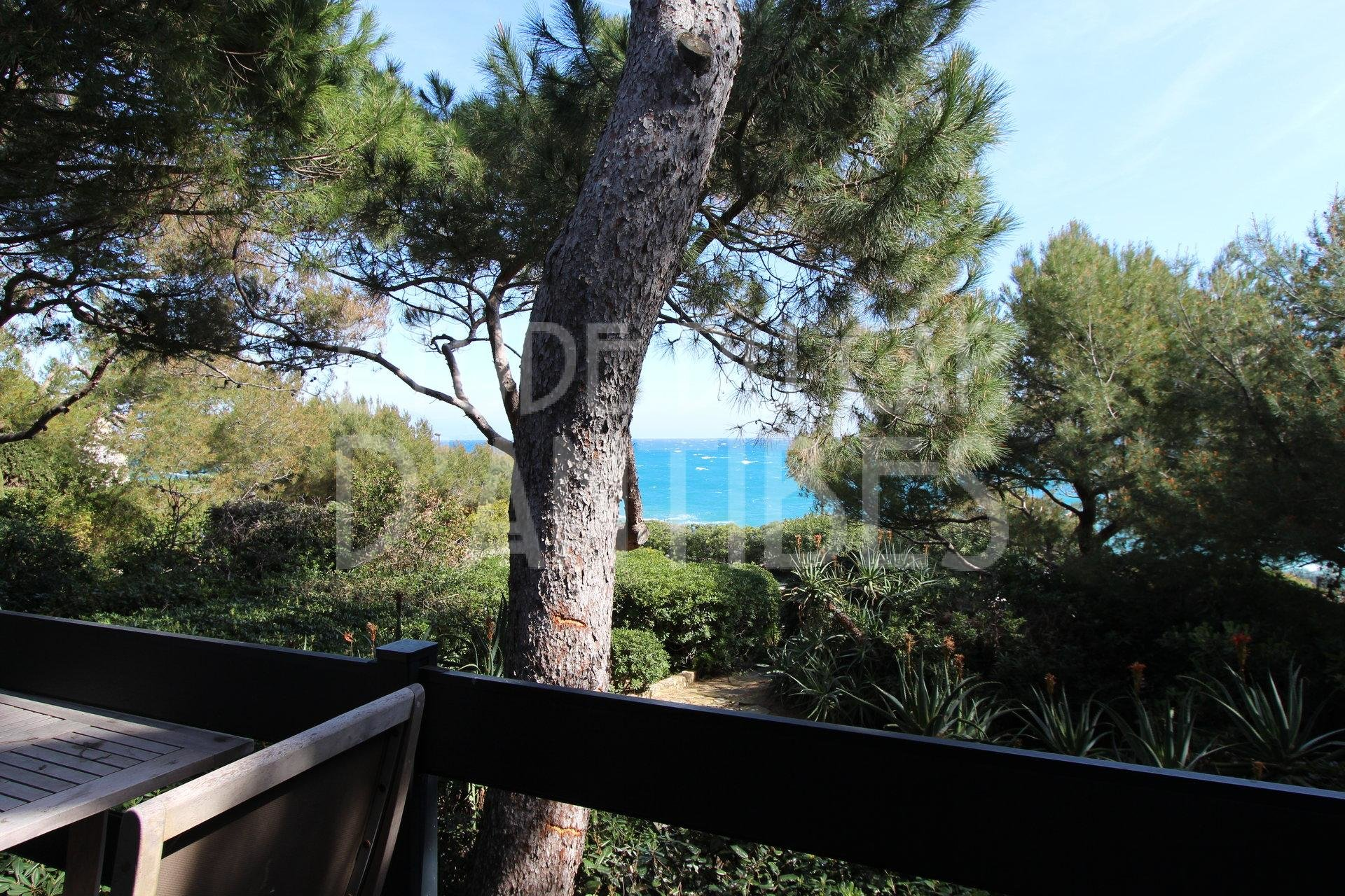 Cap d'Antibes - Vue mer panoramique