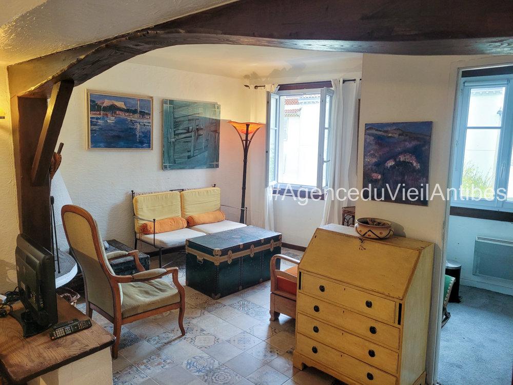 2/3p loué meublé avec terrasse et aperçu vue mer