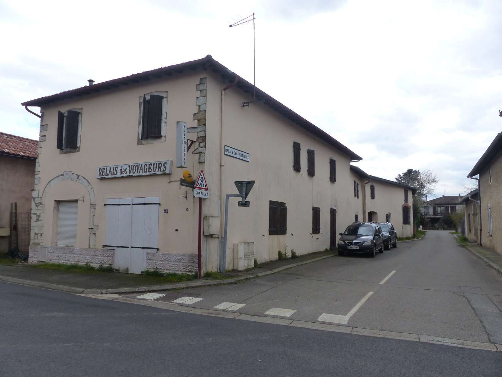 A large village house with business potential