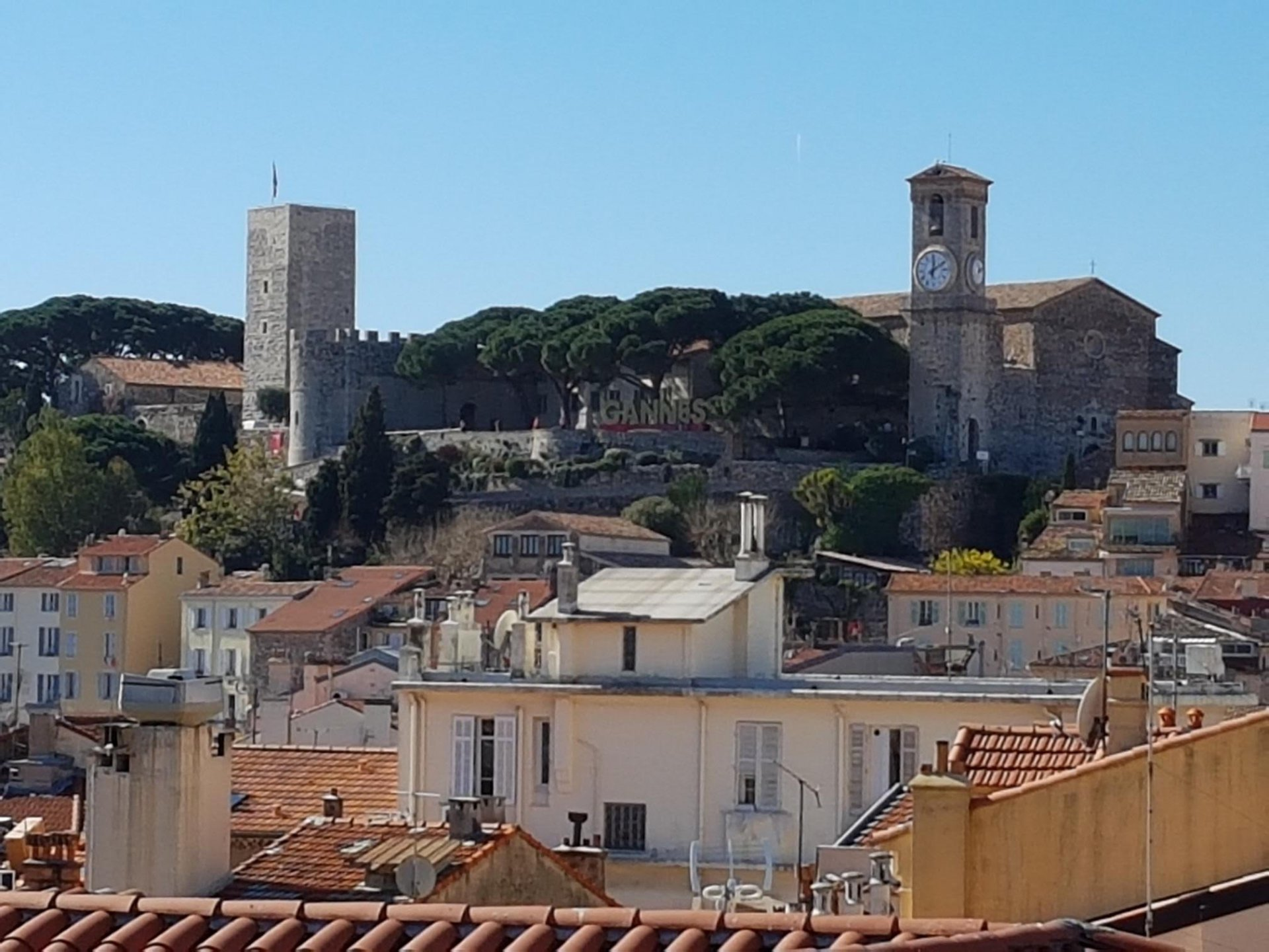 Sea View apartment 2 bedroom in center of Cannes