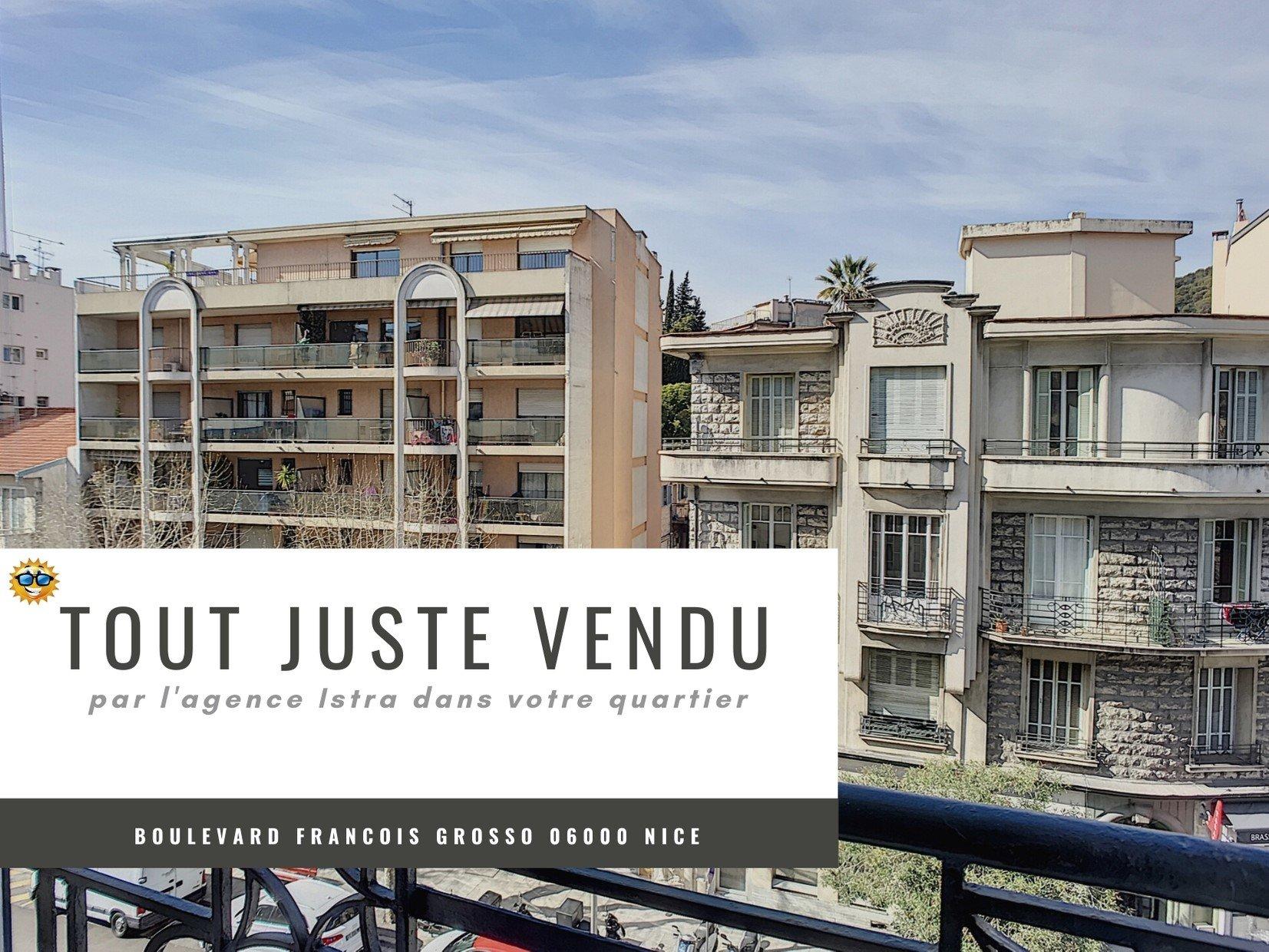 Appartement F2 vendu Nice Francois Grosso
