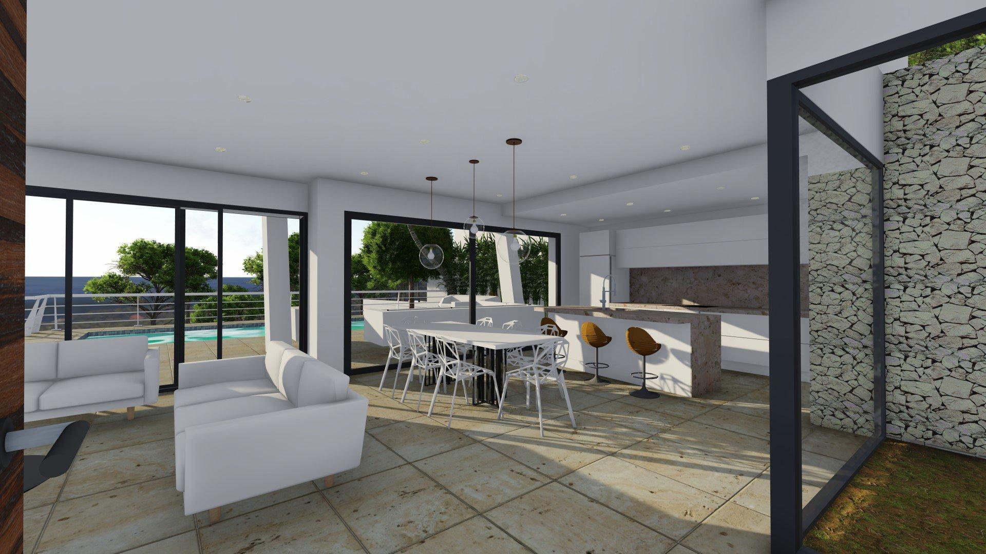 Villa de luxe à vendre à Benissa à 2 km de La Fustera