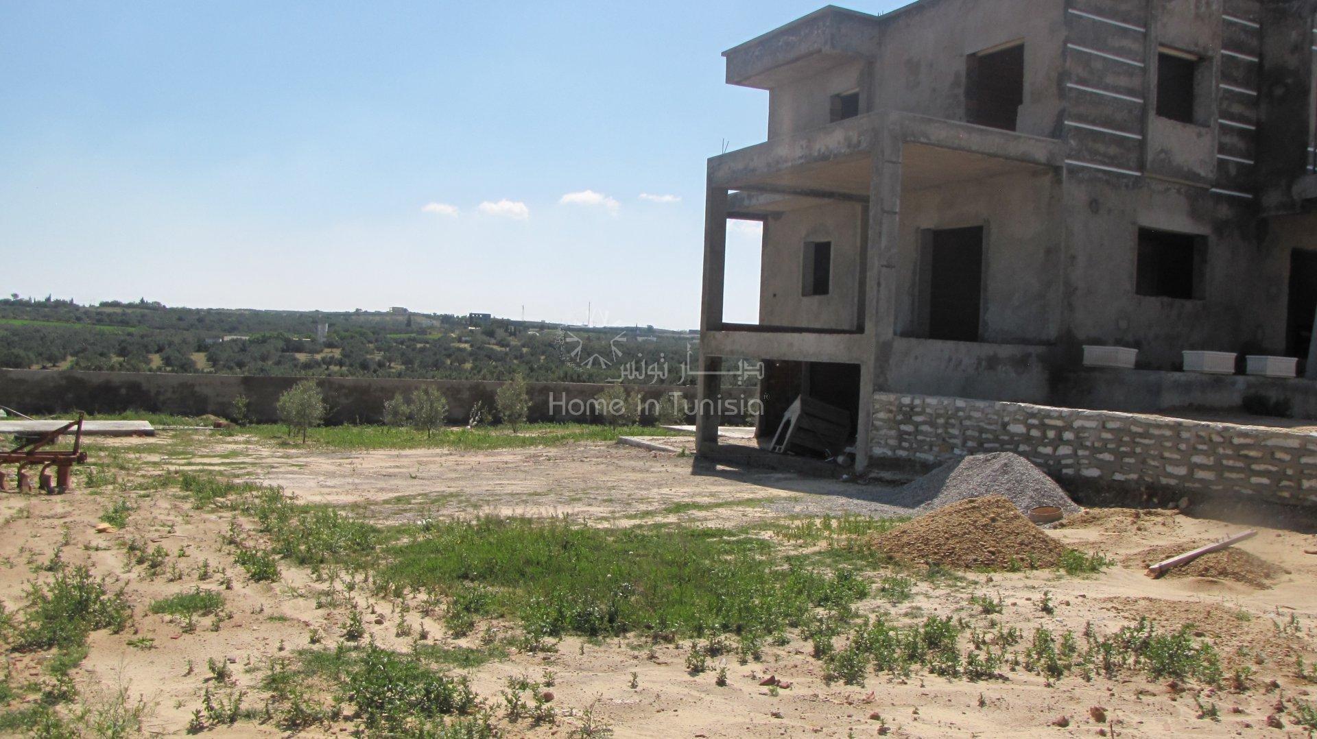 Villa style américain en cours de construction