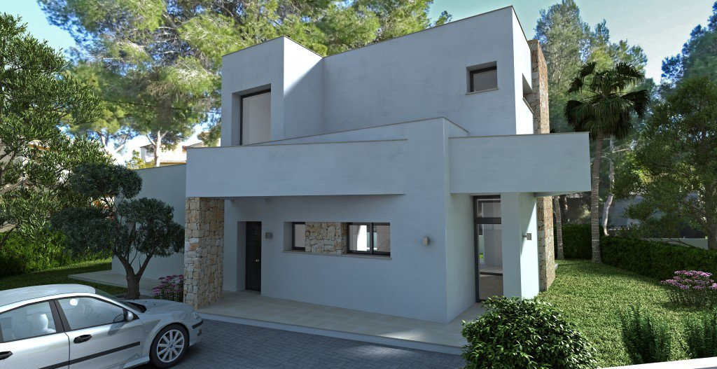 Villa in Calpe, with 3 bedrooms and 600m from the sea