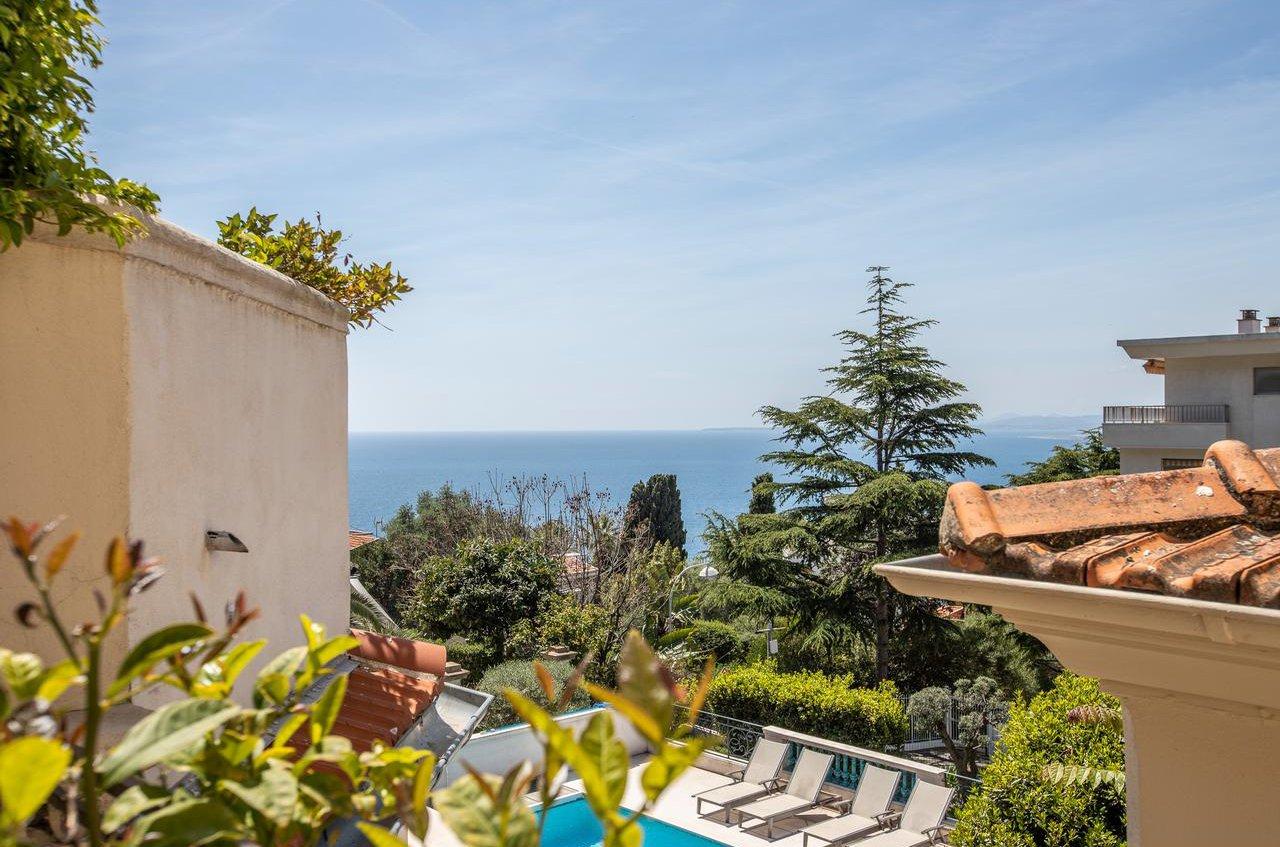 4P avec terrasse et vue mer - Nice Mont Boron