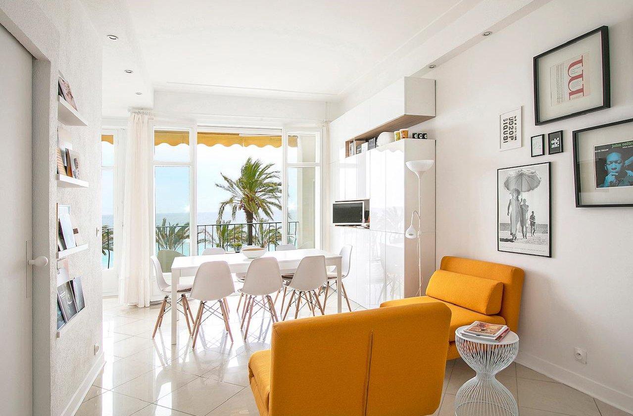 Studio avec terrrasse et vue mer - Nice Promenade des Anglais