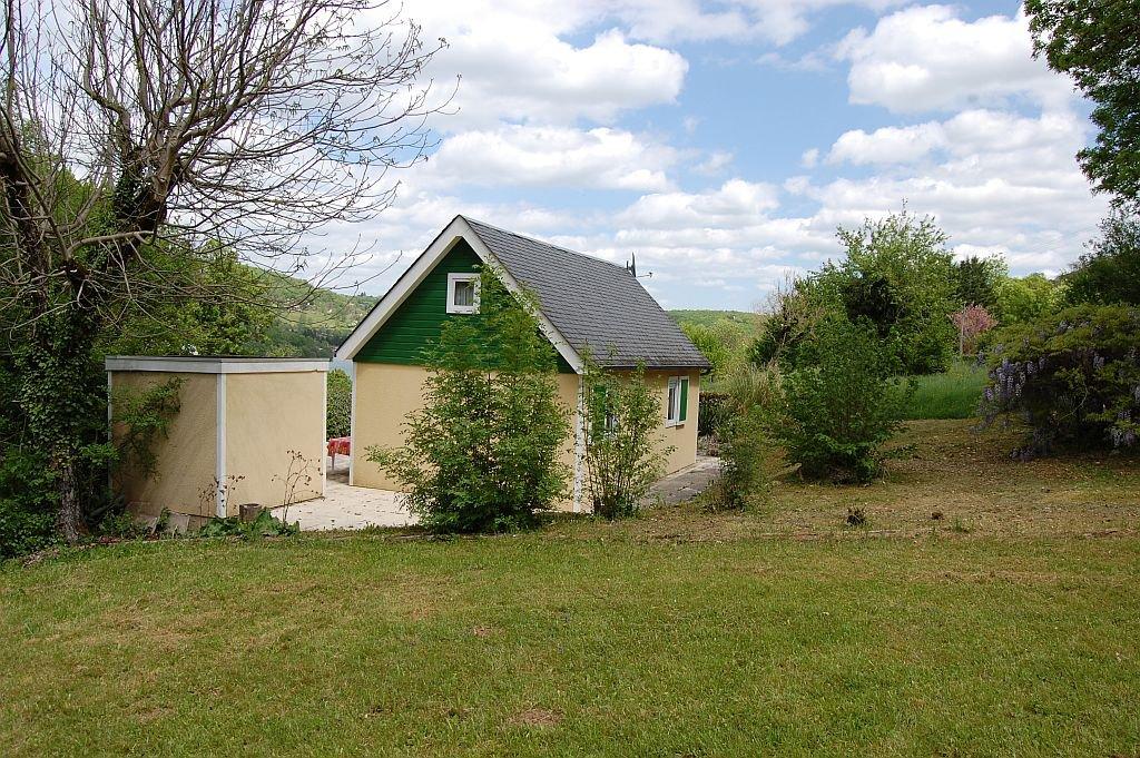 Rand lac du Causse, leuke bungalow op 813 m2 met schuurtje