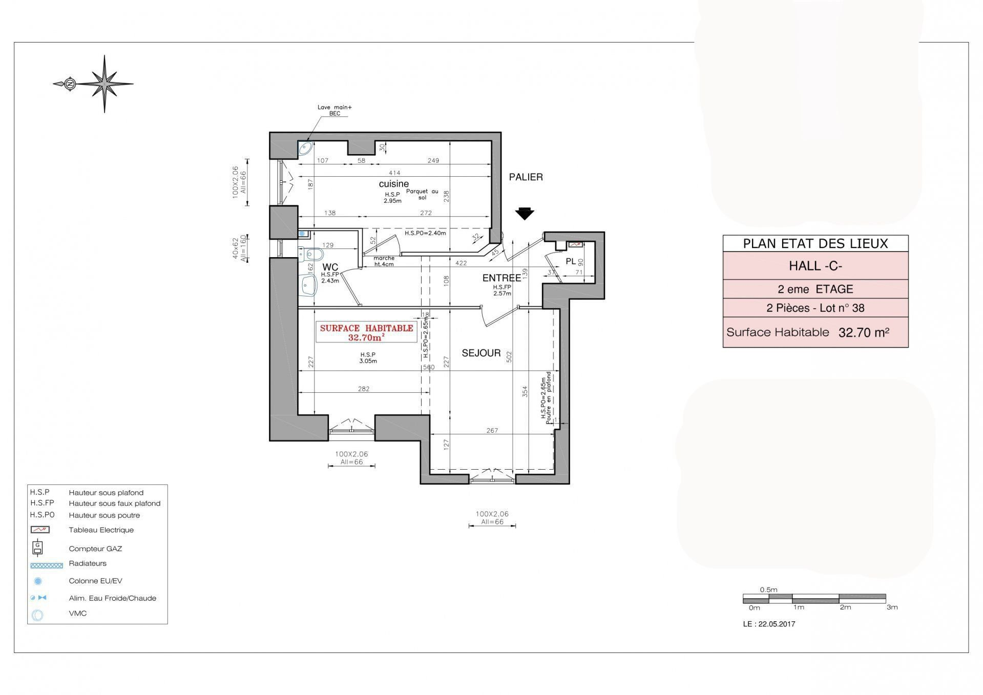 Appartement 2P à rénover  - Nice Le Port