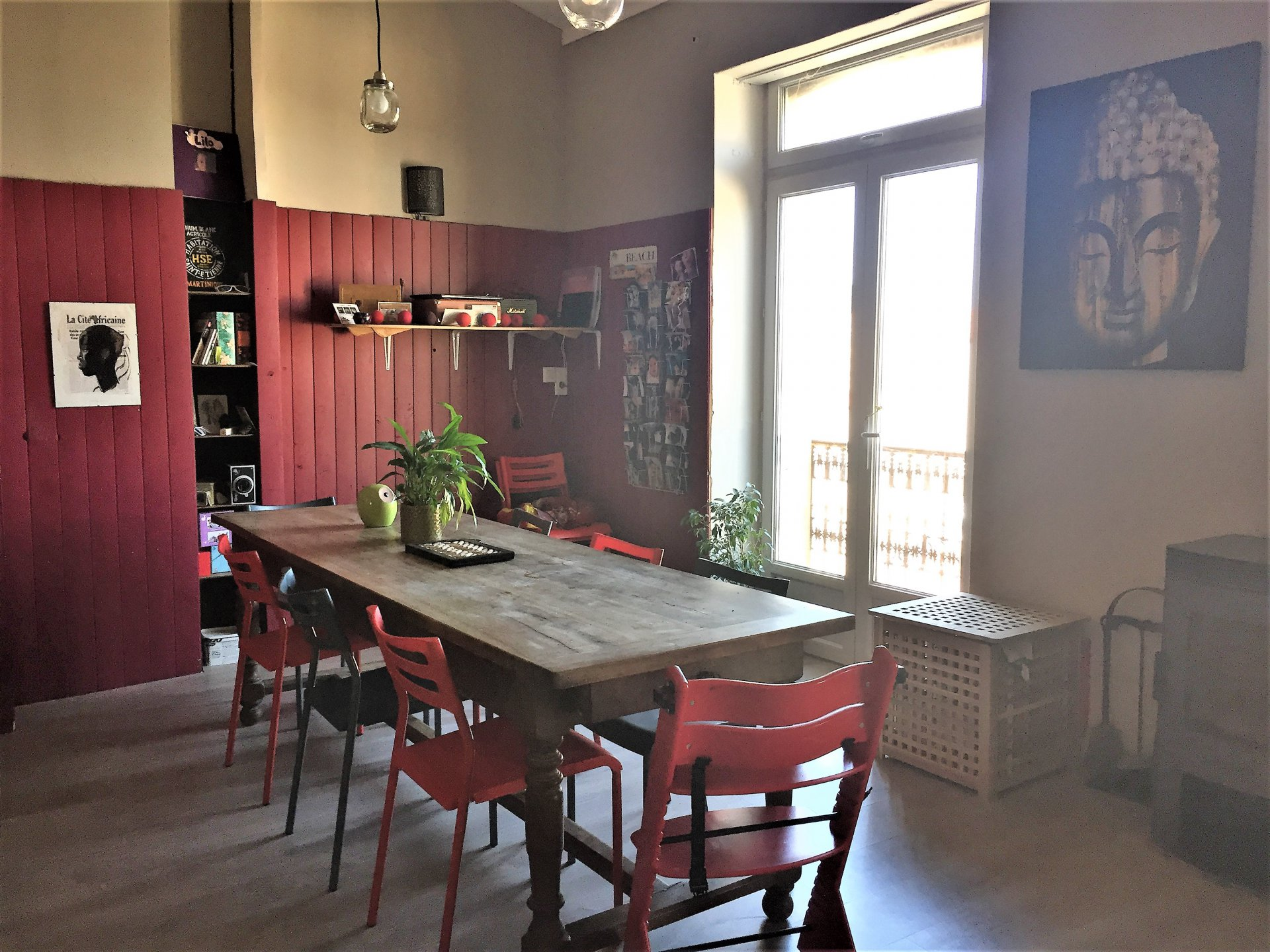 Ensemble immobilier de 3 appartements