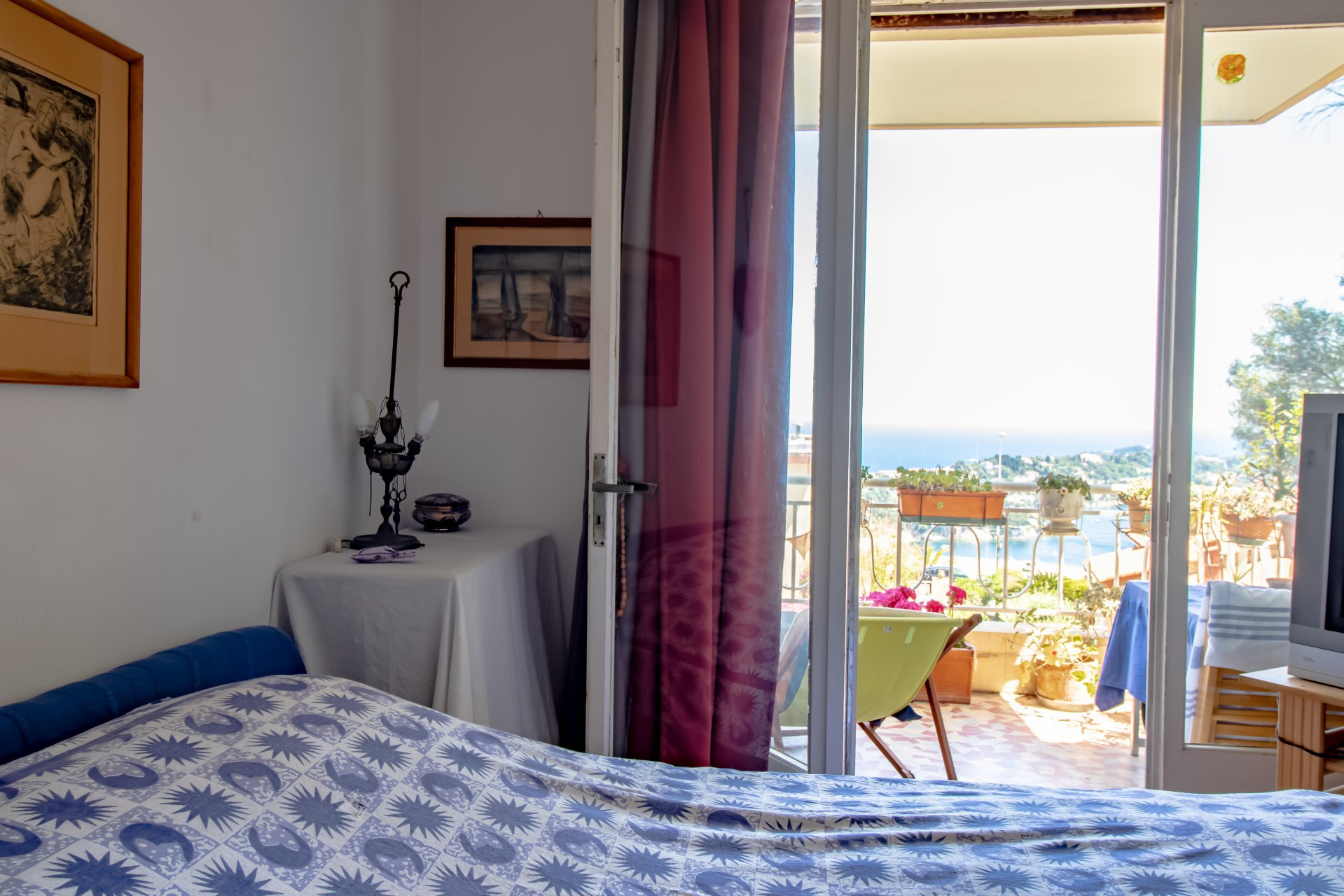 Apartment in sought-after area in Villefranche sur Mer