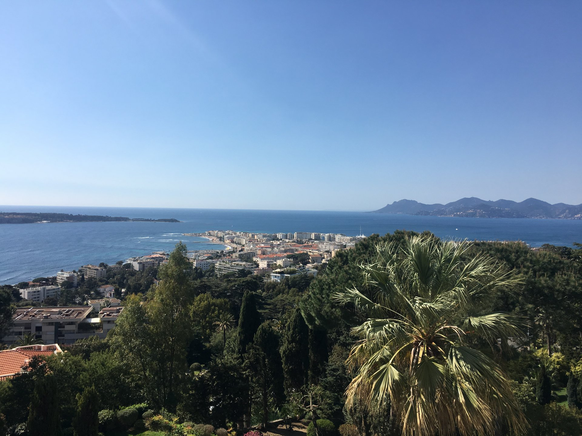TO SALE CANNES CALIFORNIA HILL 3P 118M² + 22M²TERRACE with a PANORAMIC SEA VIEW