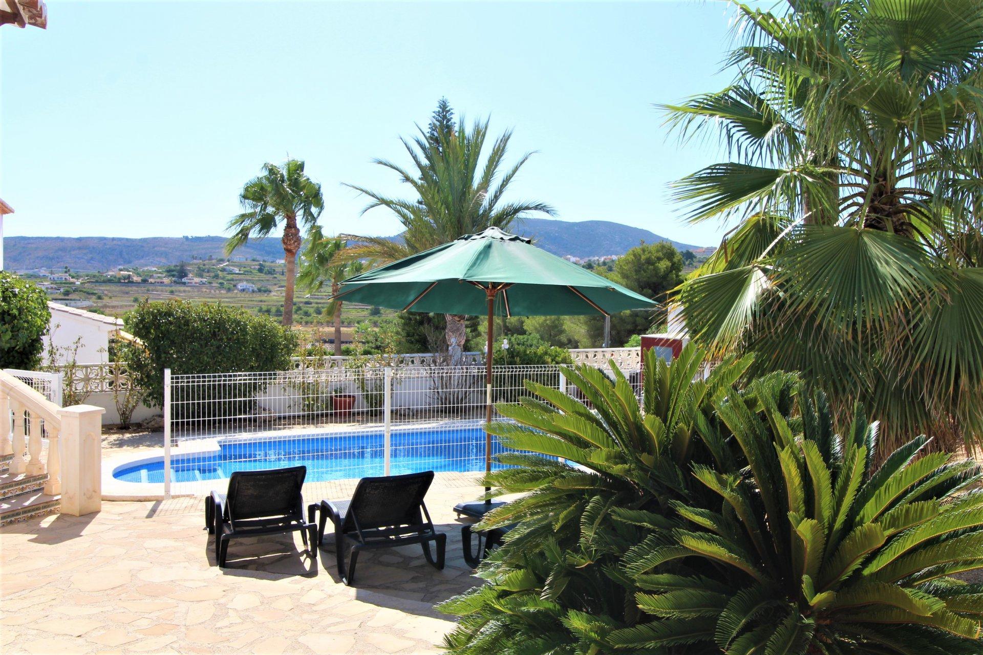 Villa sur 1 niveau avec une vue magnifique sur la montagne