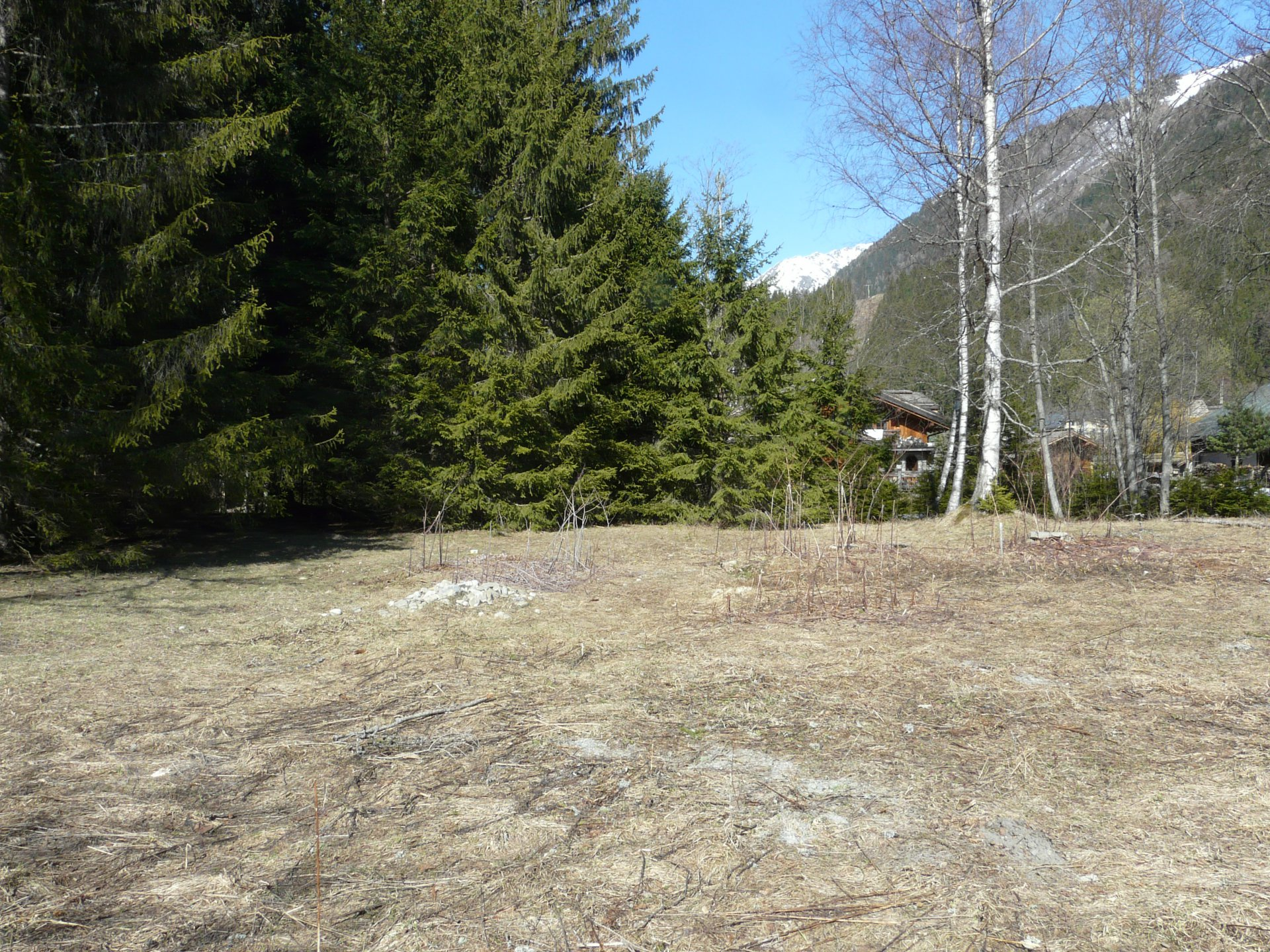 Buildable plot of Land-Les Tines-RARE