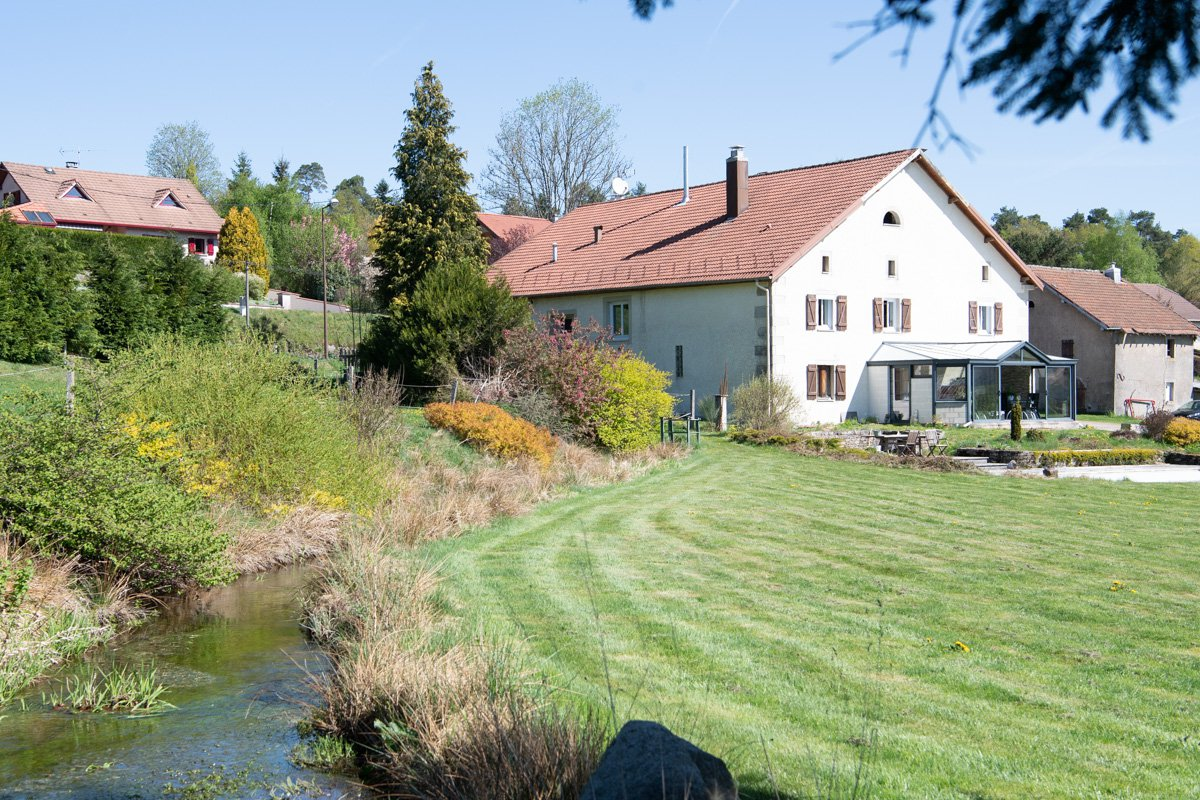 VOSGES - Beautifuel farm with apartment and outbuilding on 1ha
