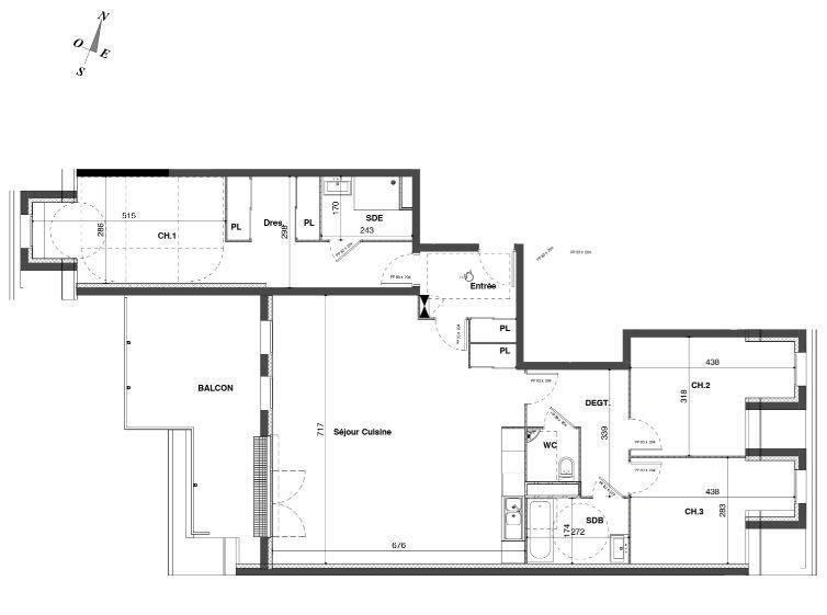 Sale Apartment - Le Mesnil-Esnard