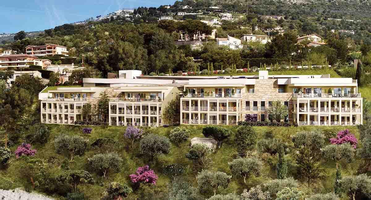 Eze Village 3 Pièces Rez de Jardin vue Mer avec Parking