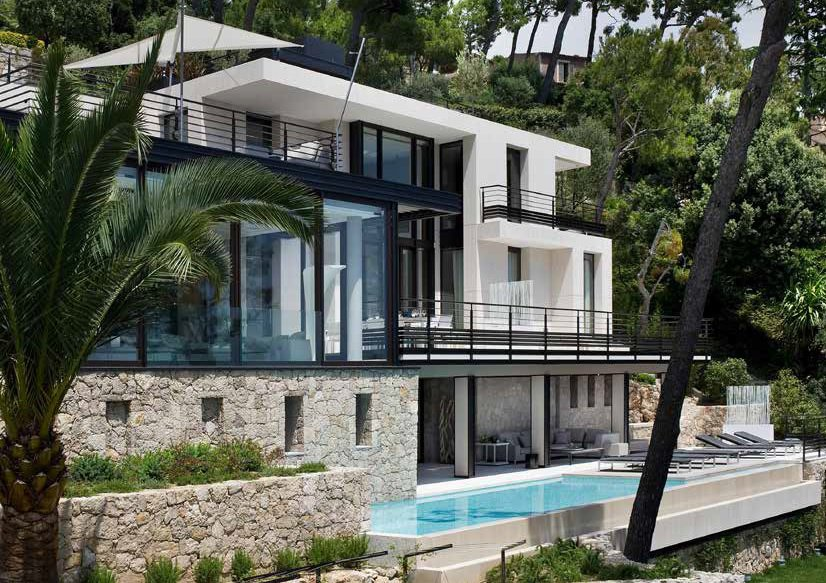 Villefranche-sur-Mer - Luxury contemporary villa with stunning view
