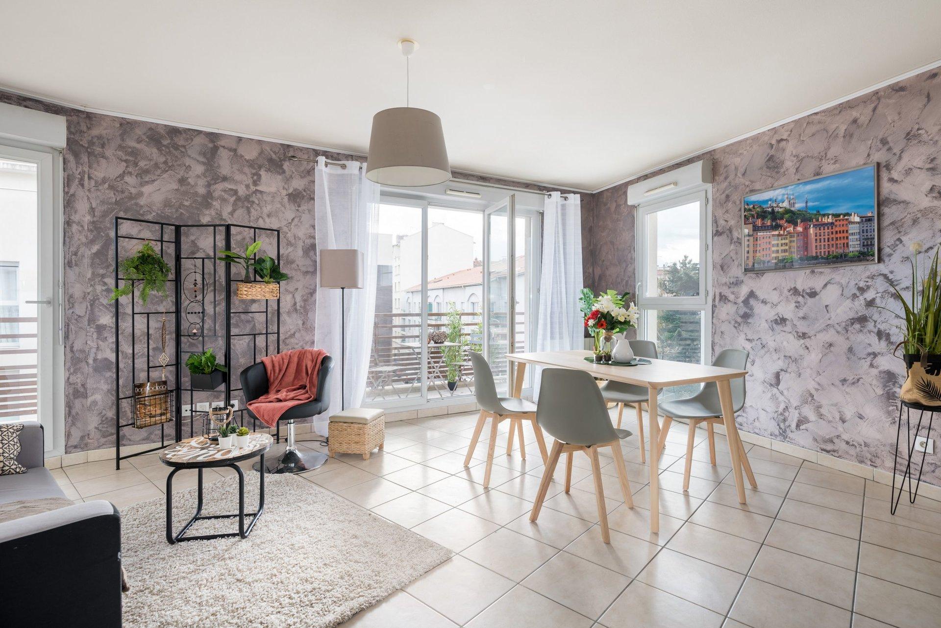Appartement T2 - LYON 3