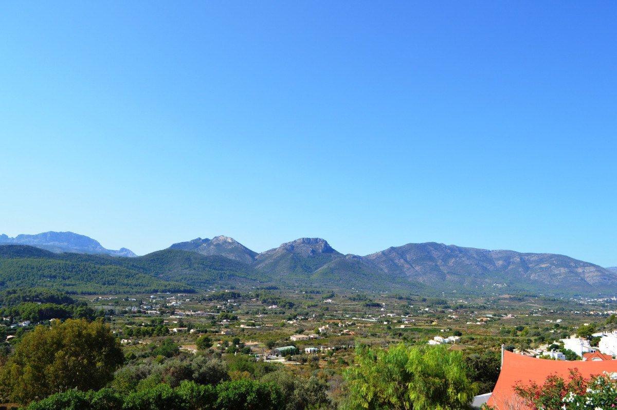 Villa orientée au sud avec une vue imprenable sur Jalon