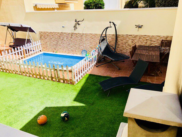 2 bedrooms house with private pool