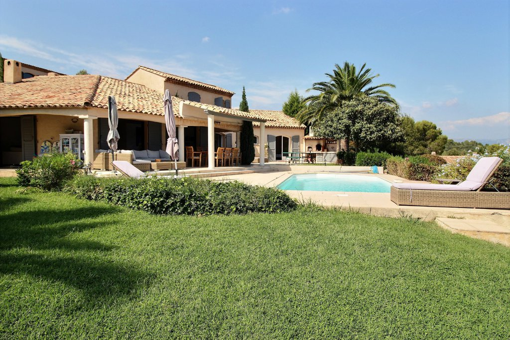 Stunning modern villa with pool and seaview - Valbonne