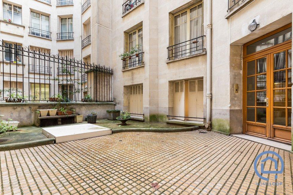 Appartement T2 - rue Varize Paris 16