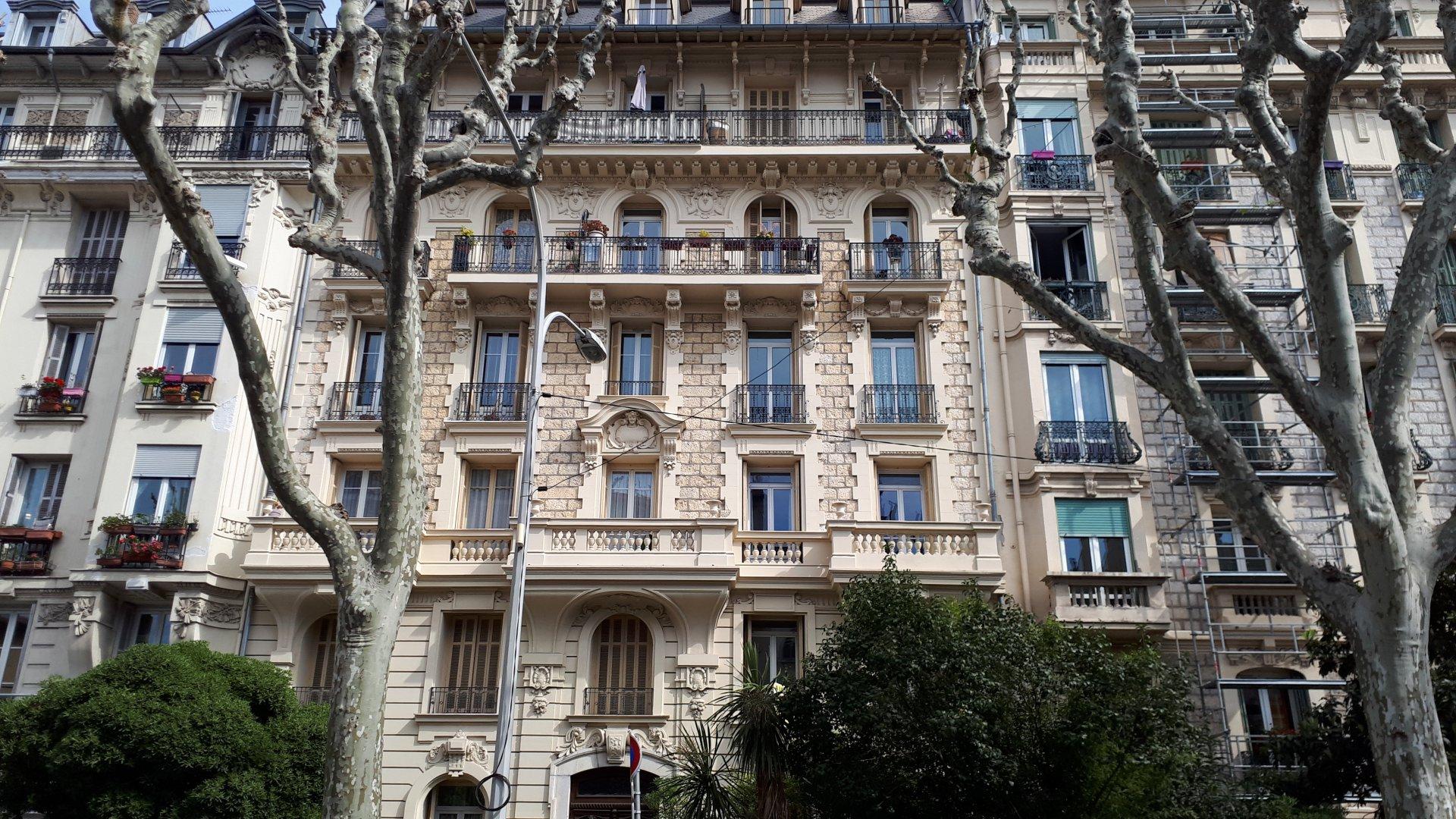 Nice République  vente 3pièces  immeble bourgeois