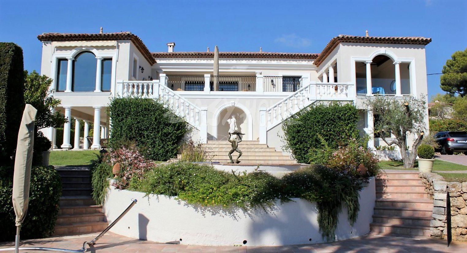 Villa vue mer Golfe Juan
