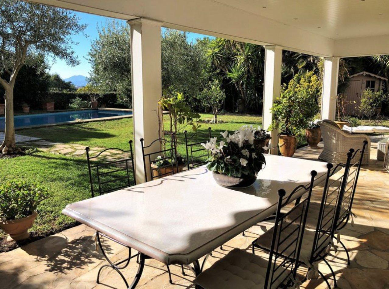 unique Cannes Californie appartement /villa Rez jardin 5/6P 260 m2 piscine privé