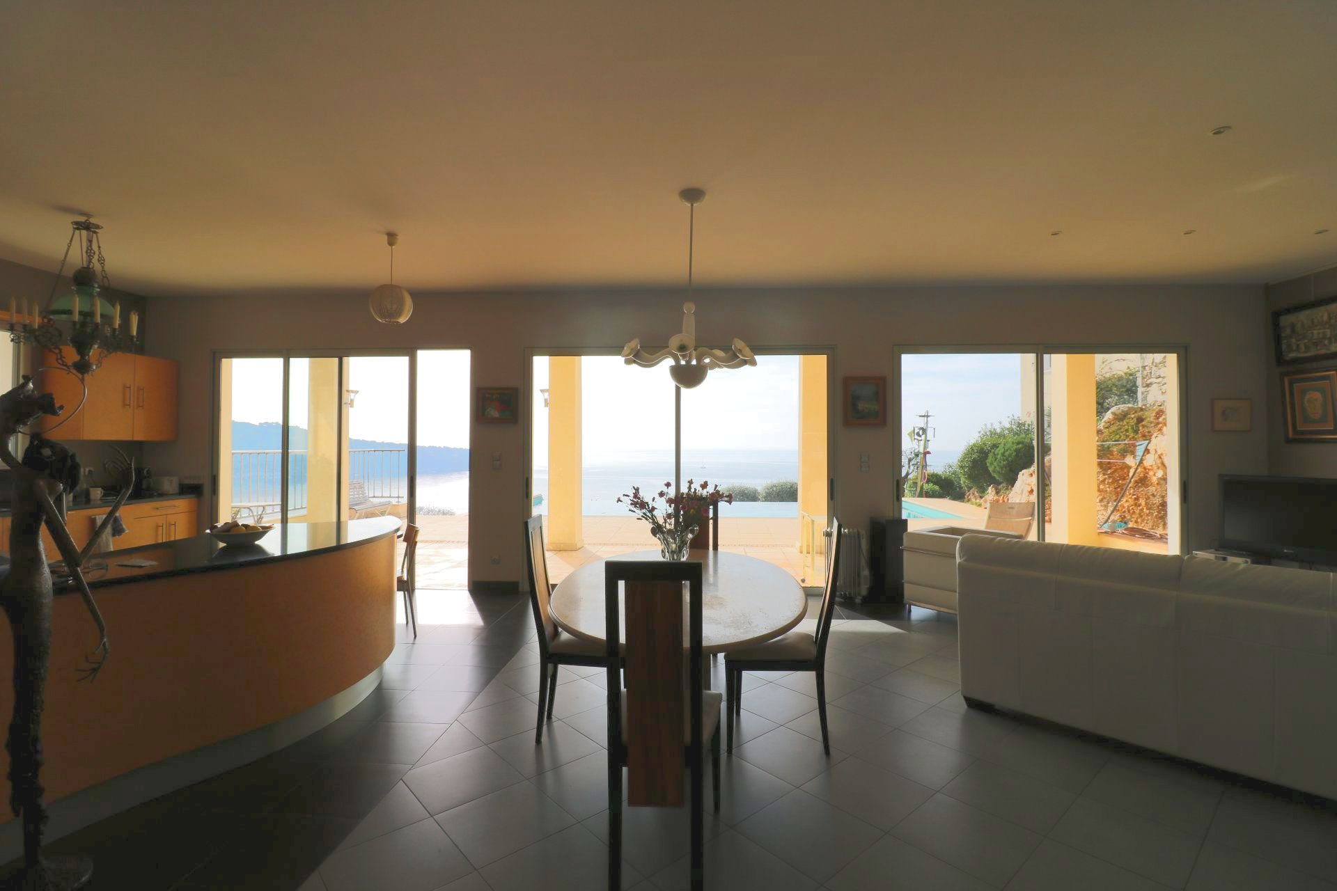 Cap de Nice, Mansion with sea view