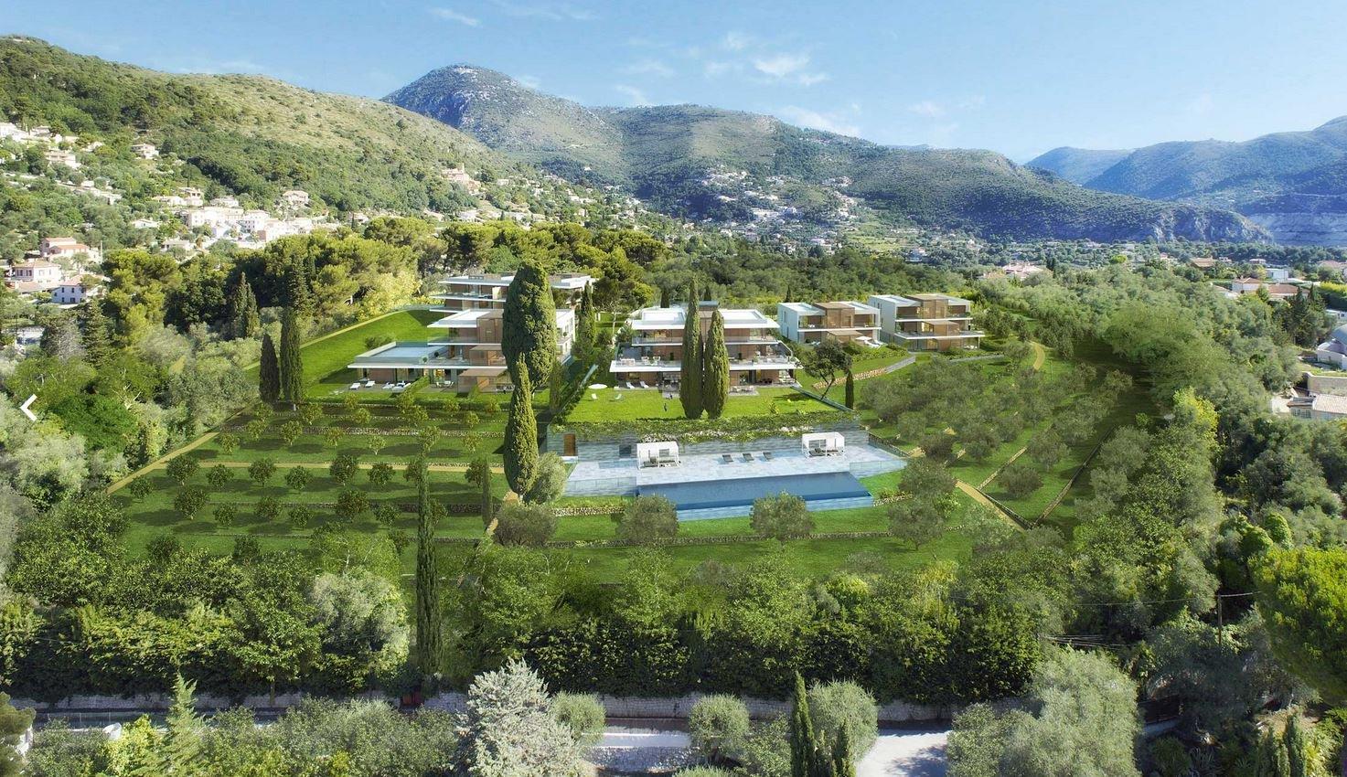 Nice Gairaut 4p neuf luxe domaine