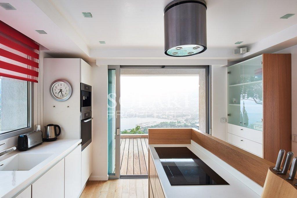 Villa contemporaine vue mer plein sud