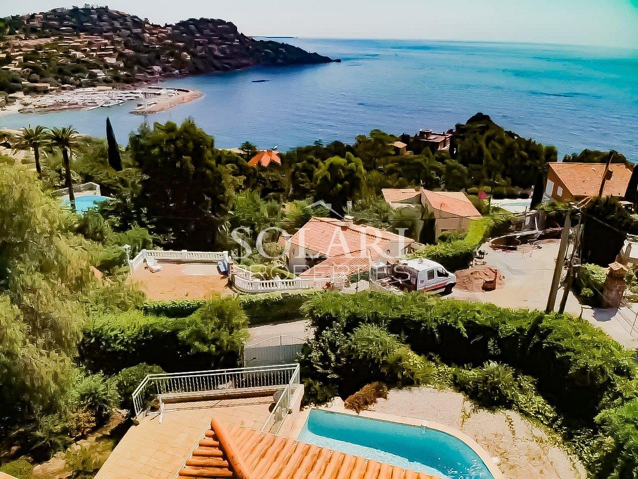 Villa with pool sea view Theoule Le Trayas