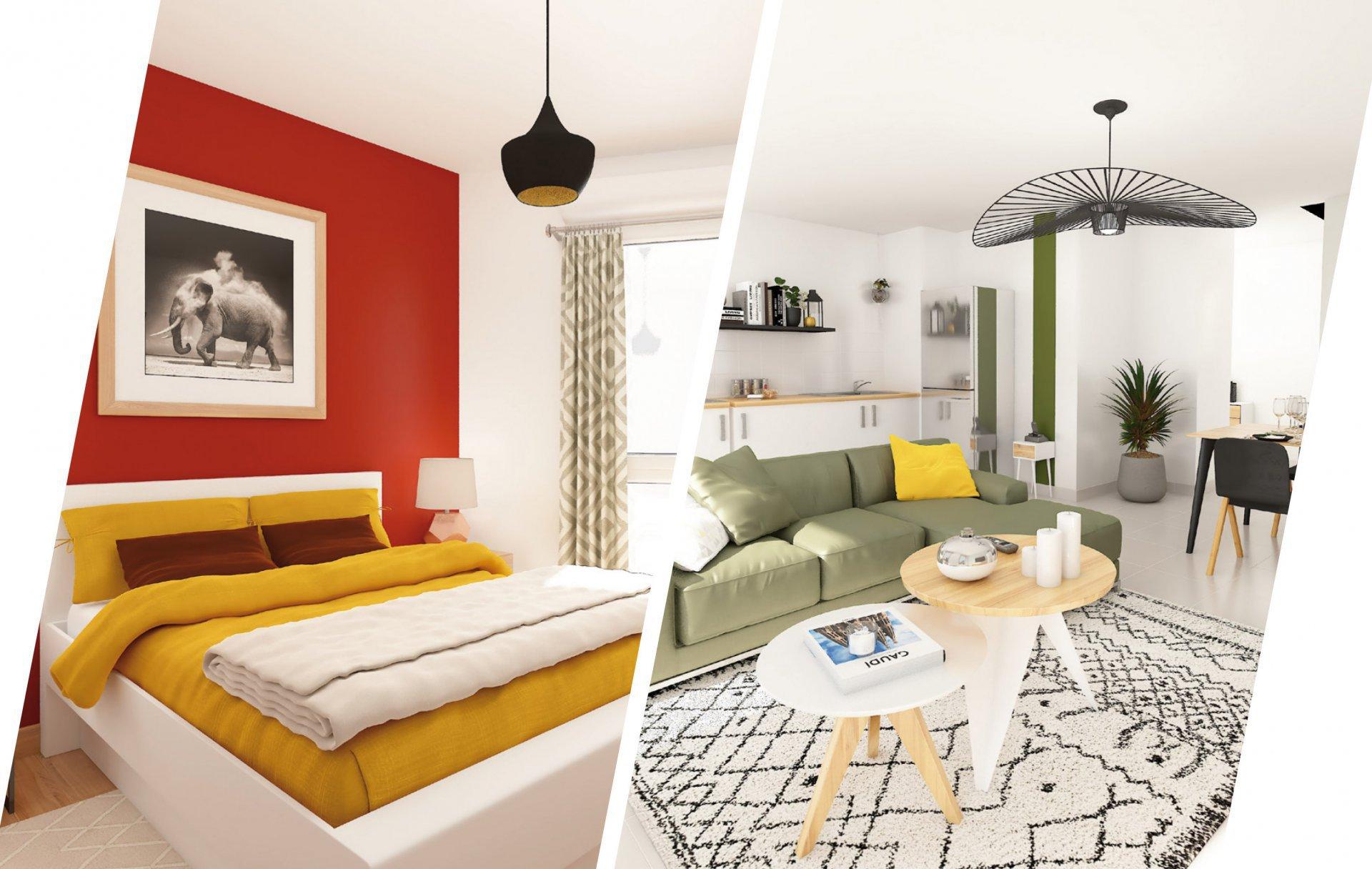 Appartement T2 avec terrasse - 31200 TOULOUSE