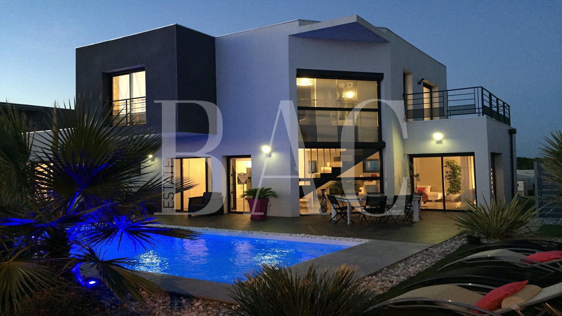 Superbe villa d'architecte près de la mer à Agde