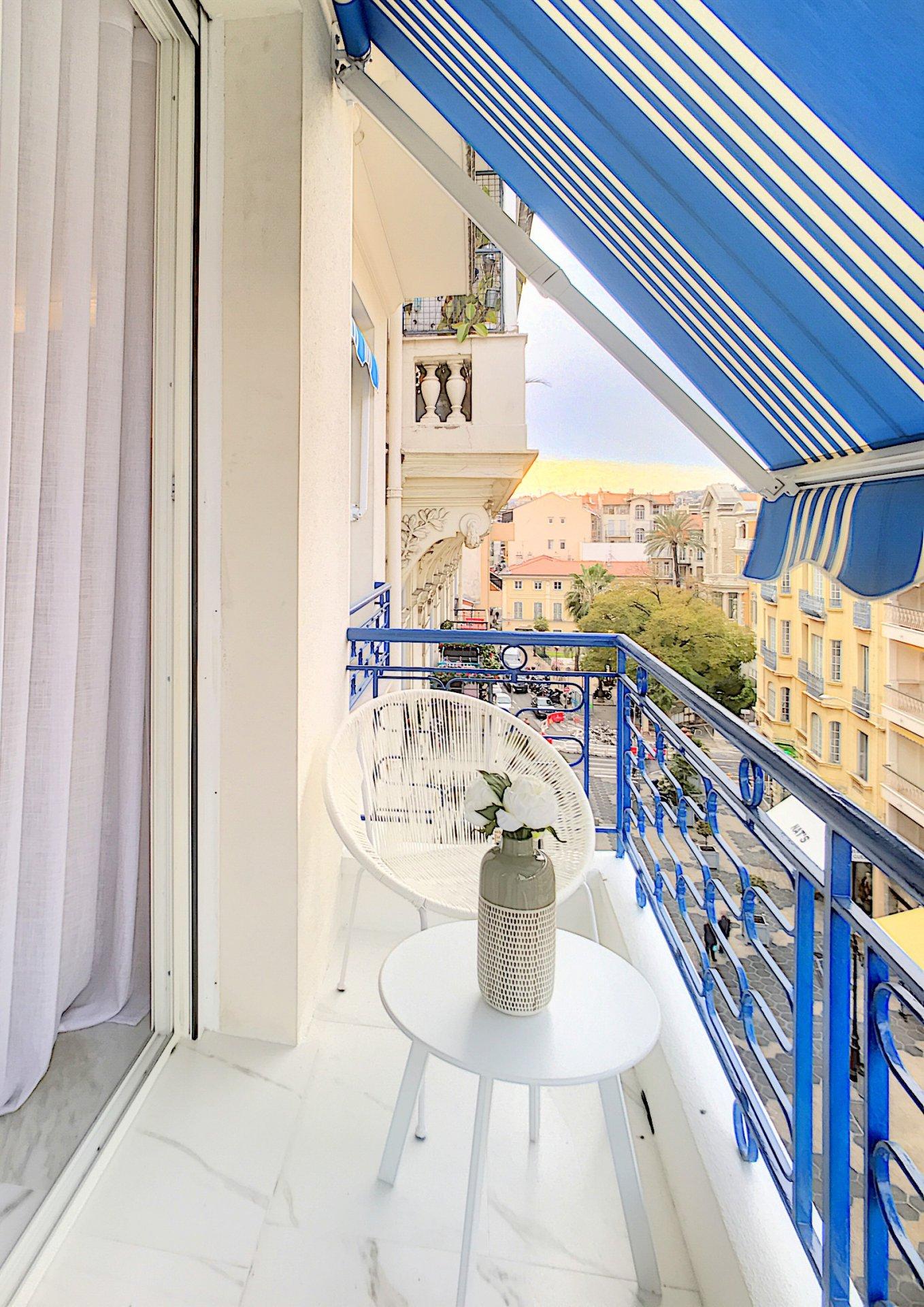 VENTE Appartement 3P Nice Carré d'Or Piétonne Balcons MAGNIFIQUE
