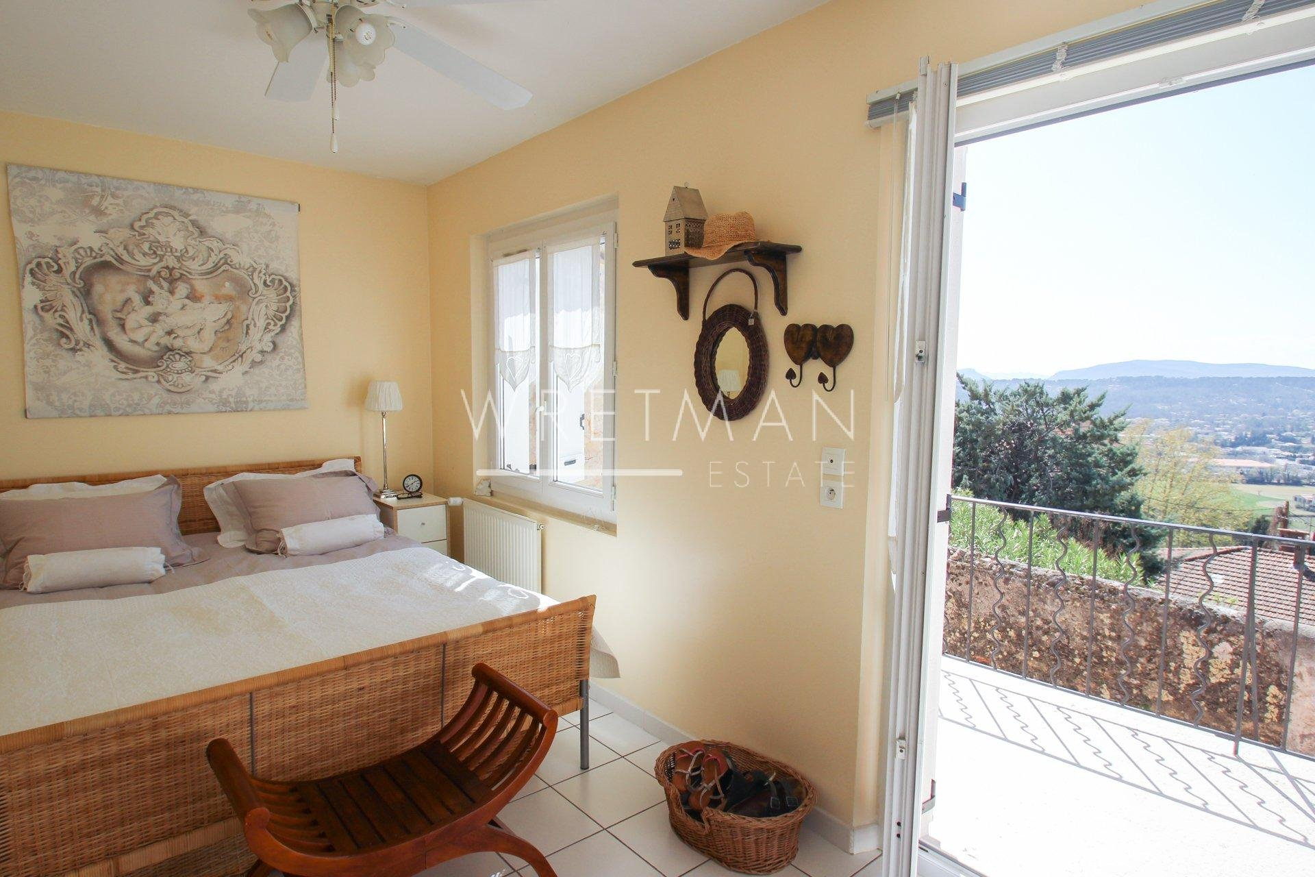 Superb village house with panoramic view - Fayence