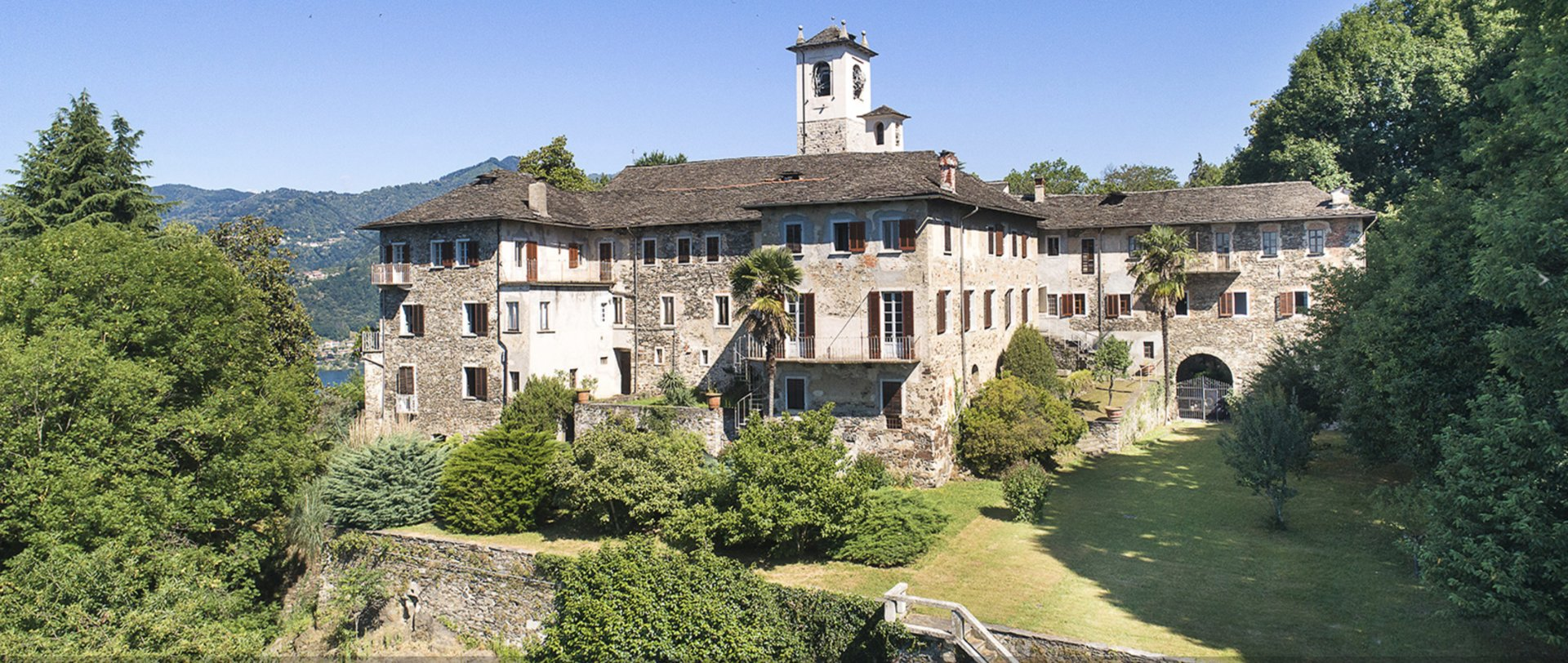 Historic property former convent for sale in Orta - outside