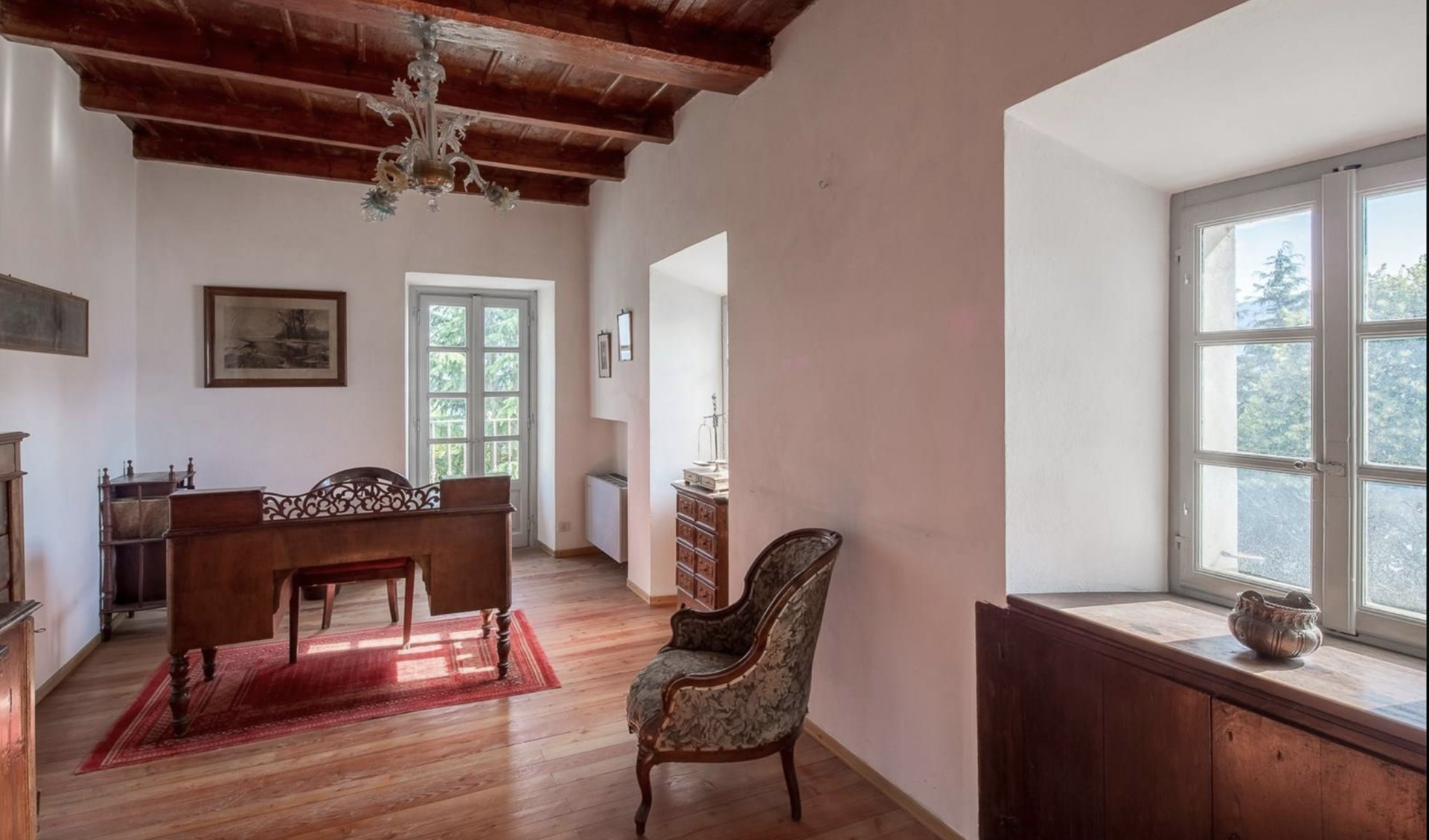 Historic property former convent for sale in Orta - study