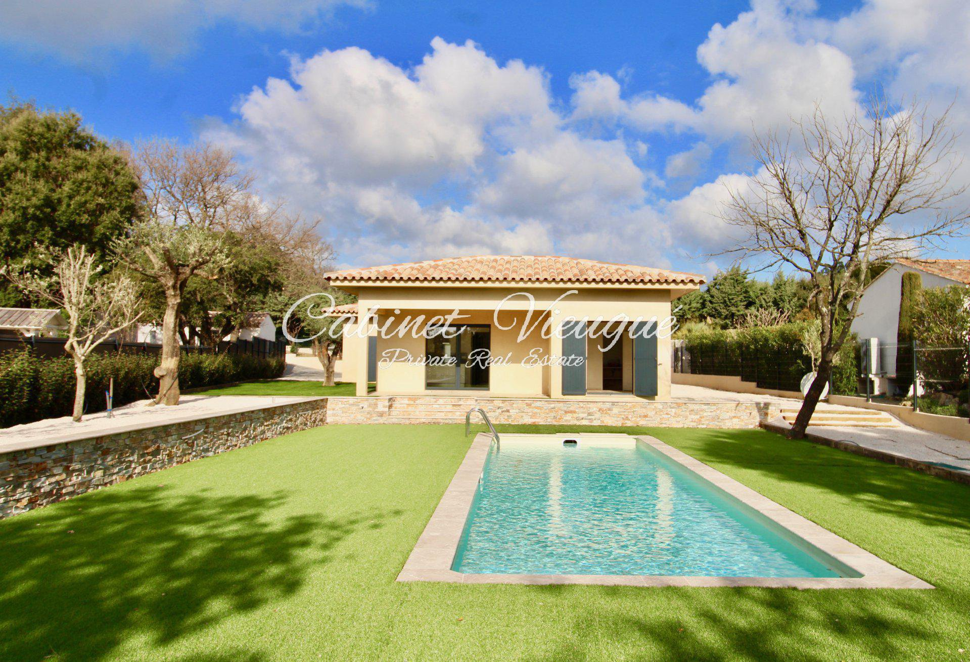 Villa contemporaine neuve Beauvallon, Grimaud