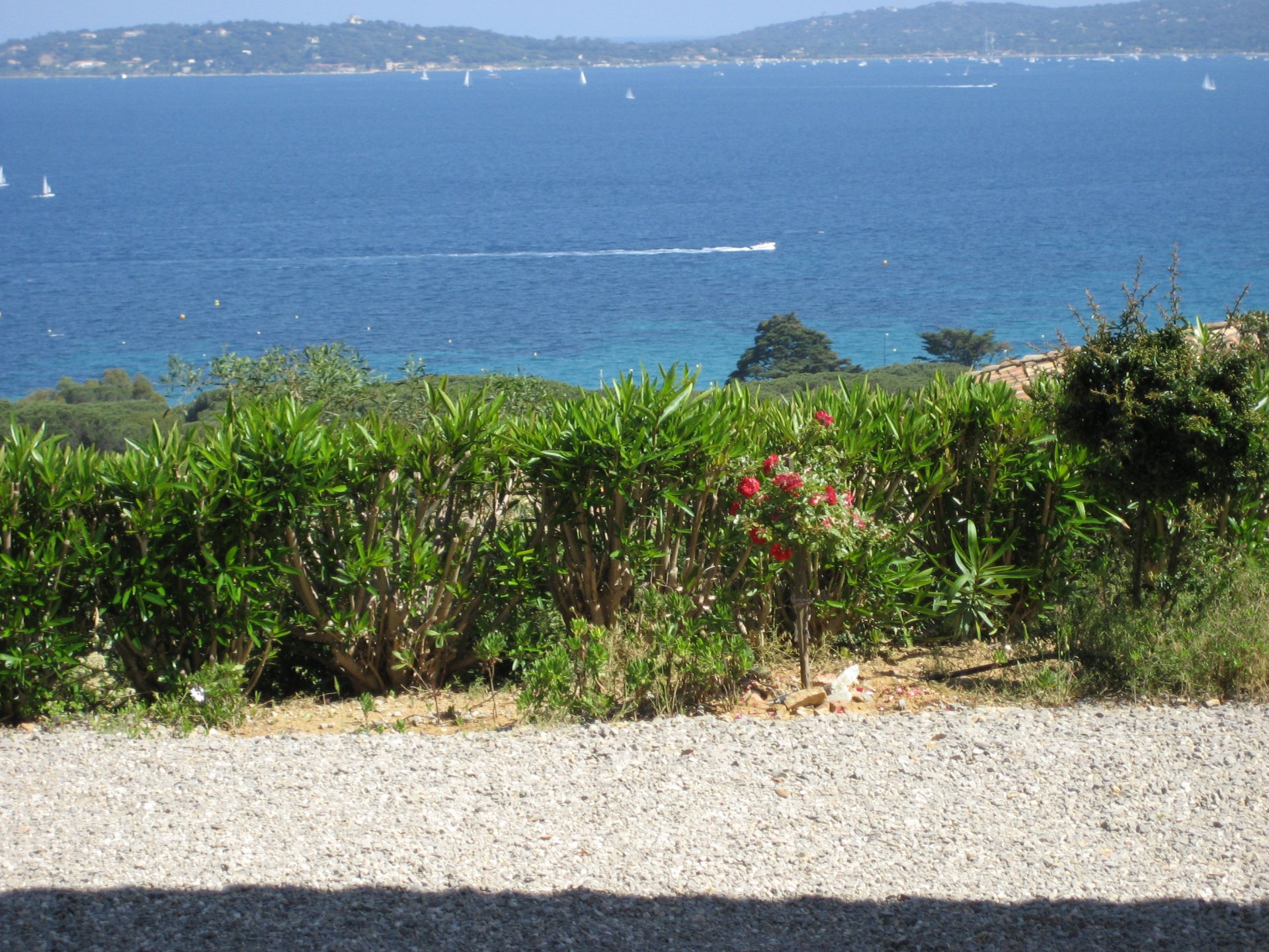 For sale villa with superb sea view facing Saint Tropez