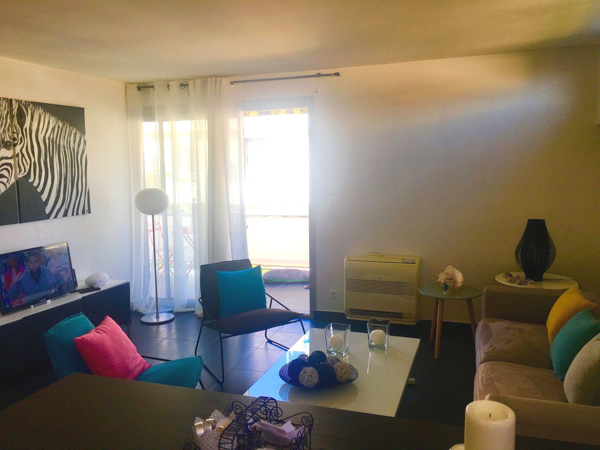 Cannes Palm Beach/Croisette top floor 2P terrace 40 m2