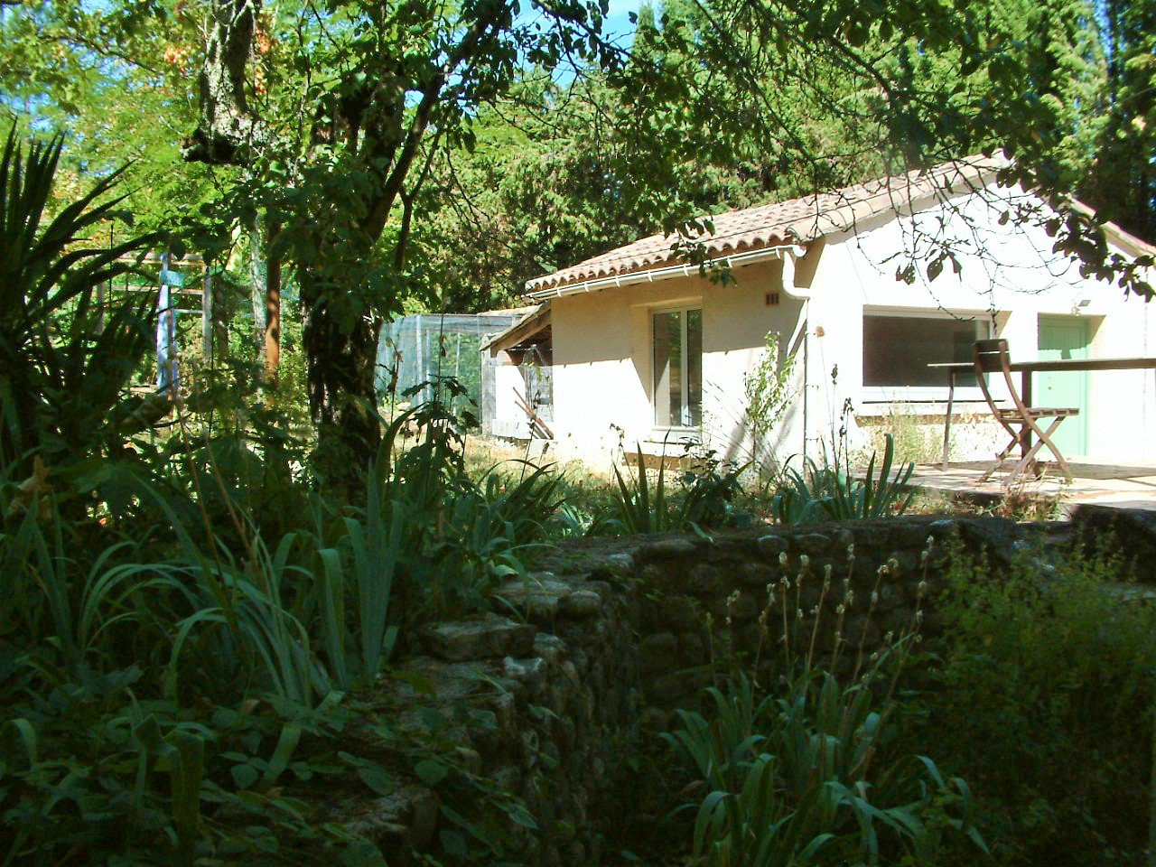 « Spacious home on 1 ha in Anduze with view »