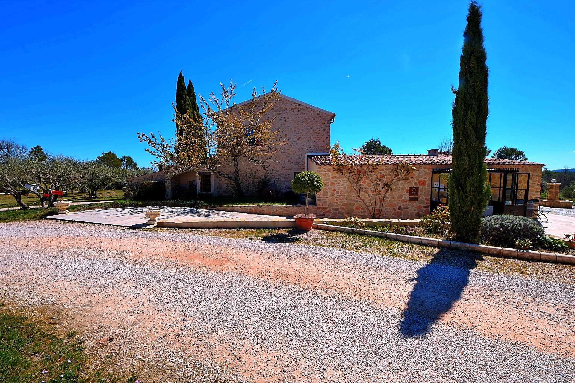 Rural stone property of 600 m² on 5.5 ha Provence Verdon