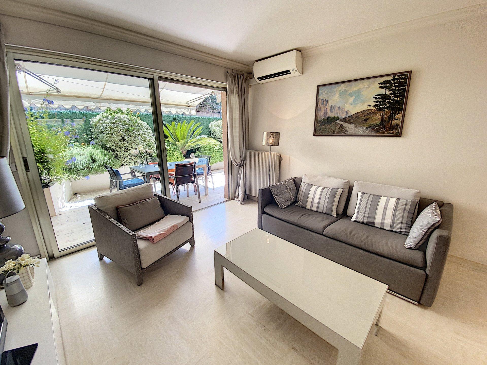 Cannes Palm Beach/ Croisette  2P 50 m2 rdj /proche plages