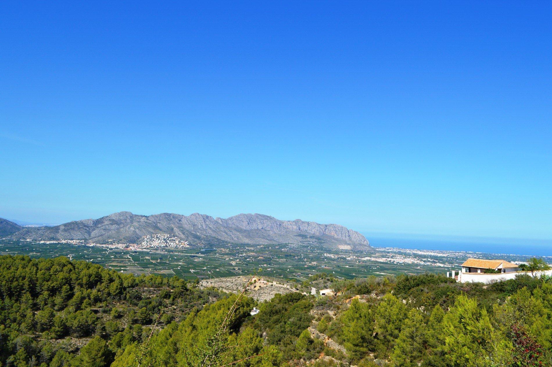Prive, afgelegen villa met een prachtig uitzicht op zee