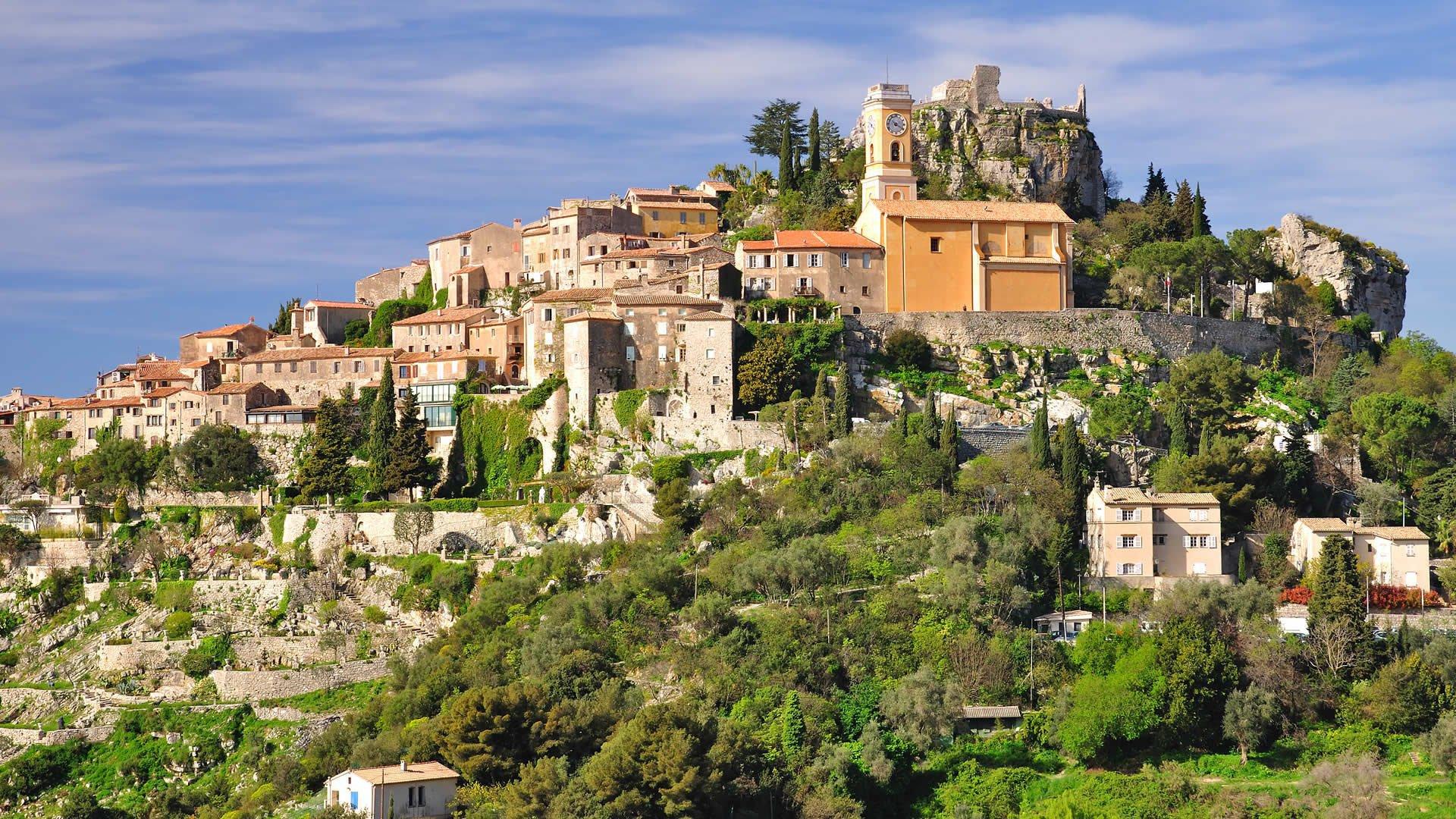Eze Village, 2 Pièces Sud  avec Terrasse et Piscine