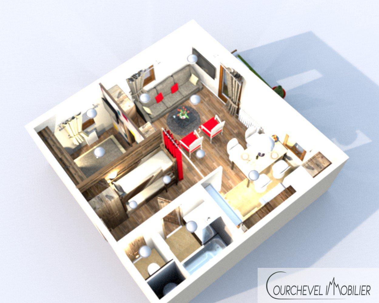 Verkoop Appartement - Courchevel Le Praz