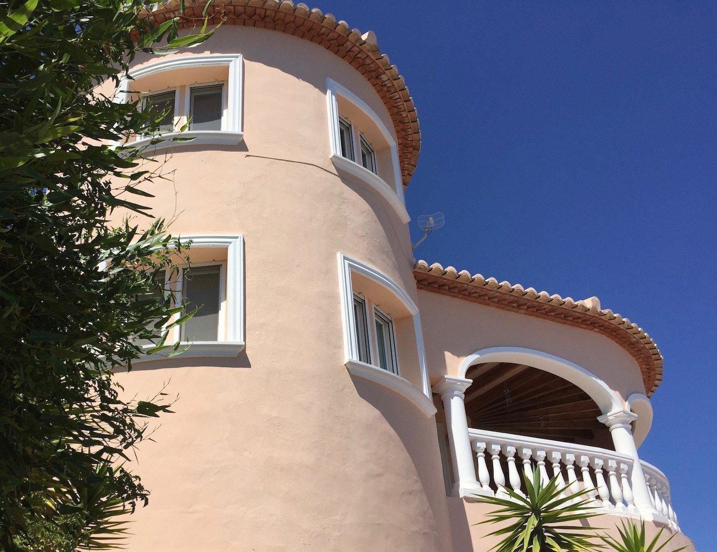 Villa très privée et moderne avec une vue imprenable